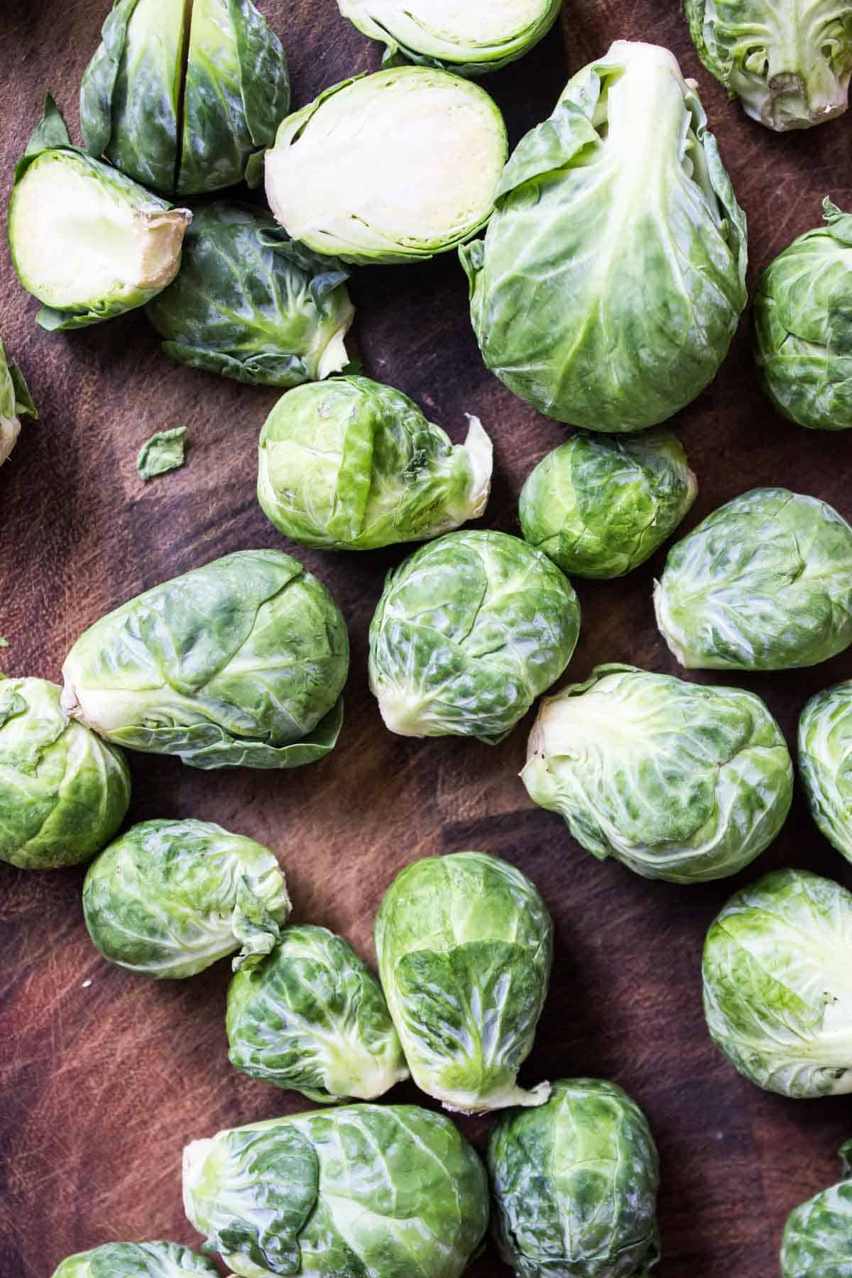 These Roasted Brussels Sprouts are the garlic lovers dream!