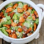 Buffalo Chicken Caesar Salad