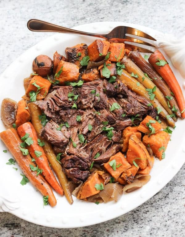 Slow Cooker Pot Roast Wicked Spatula