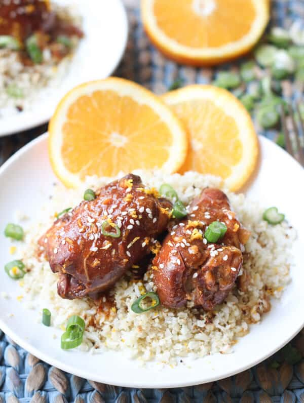 Sesame-Orange Chicken Recipe — Dishmaps
