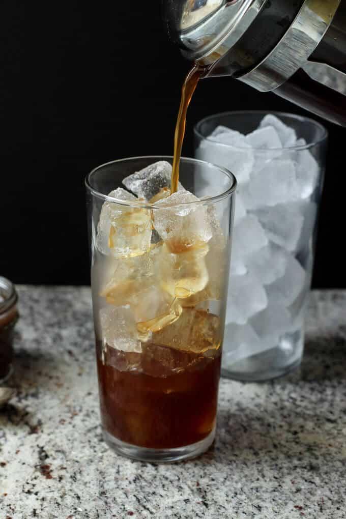 Paleo Iced Caramel Macchiato | wickedspatula.com