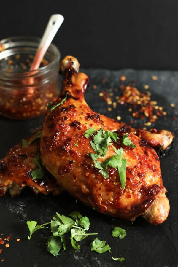 Sweet Thai Chili Roasted Chicken   Paleo