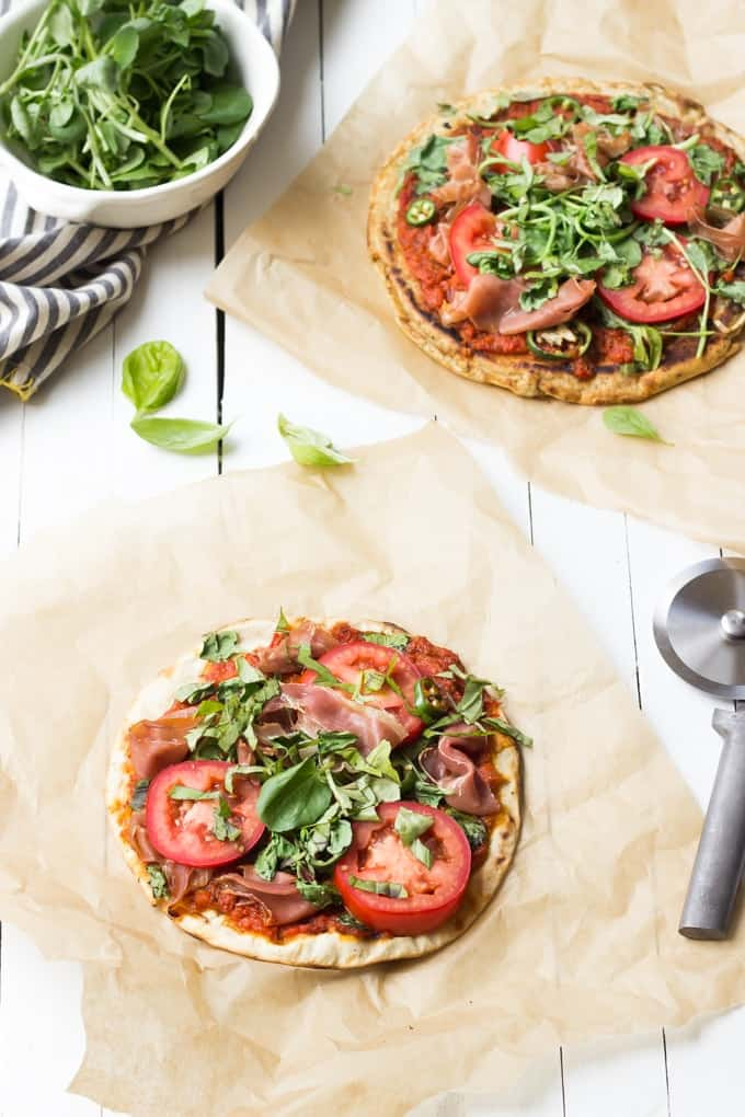 Grilled Paleo Pizza