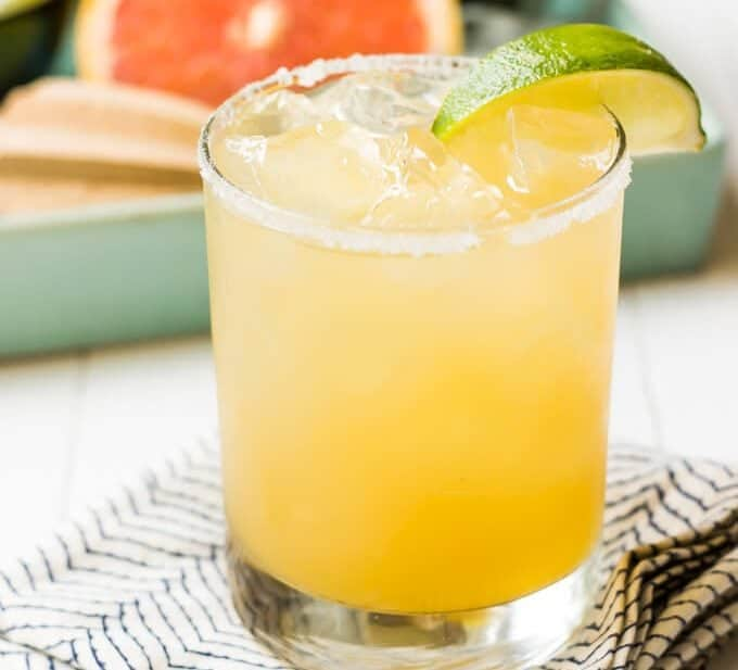 Pineapple Grapefruit Paloma