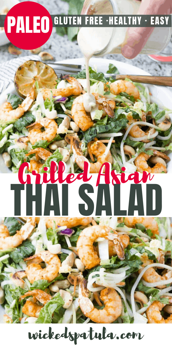 thai shrimp salad - pinterest