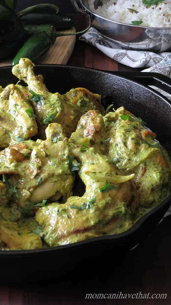 Easy Paleo Chicken Curry - Finished Chicken Curry