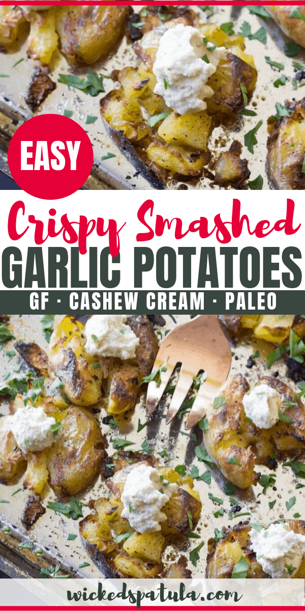 smashed potatoes recipe - pinterest