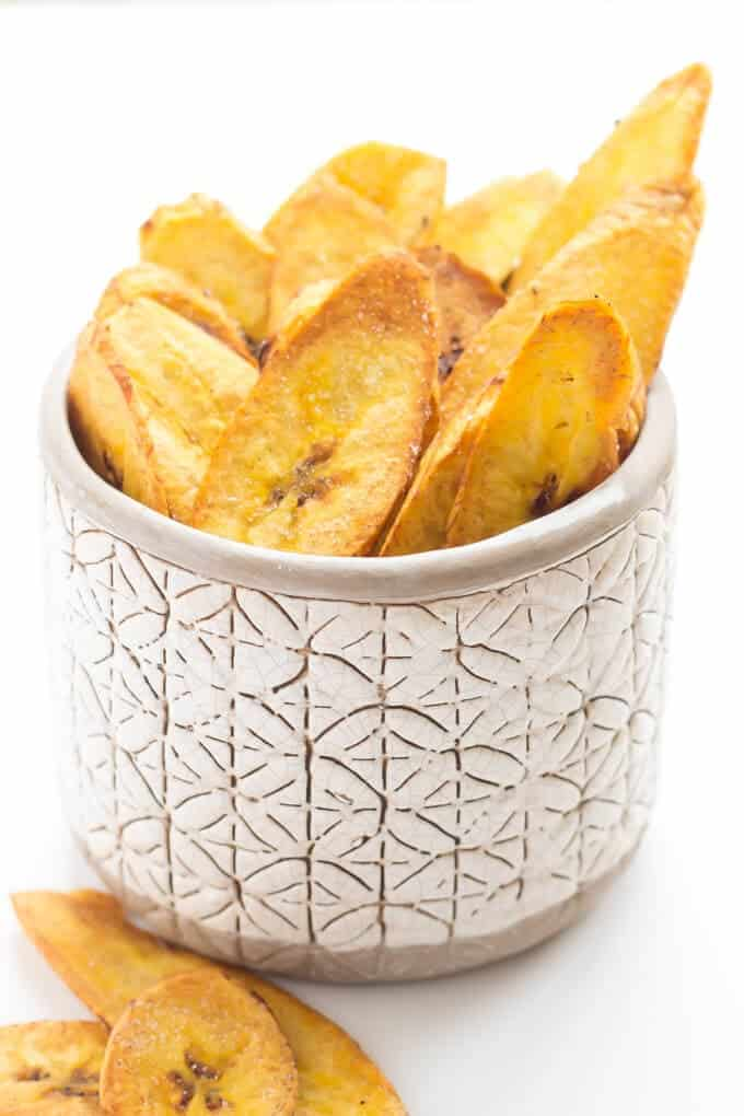 Coconut Oil Plantain Chips