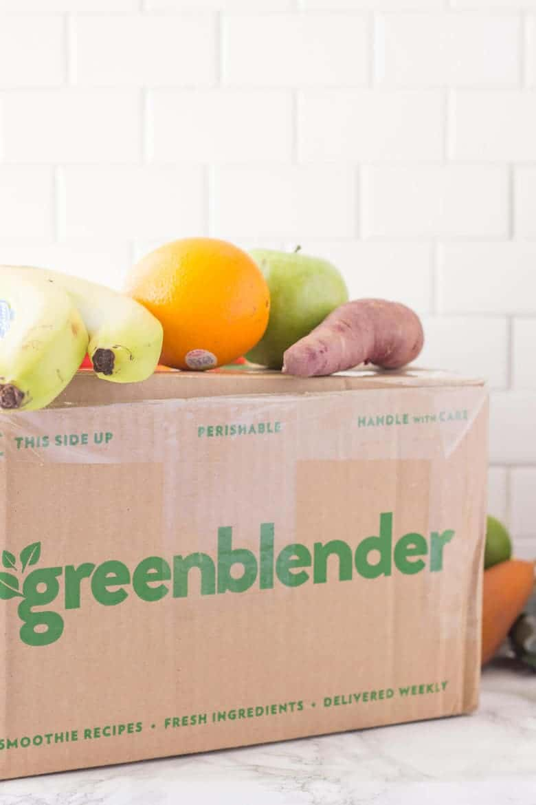 Green Blender Smoothie Delivery Service Review -100% natural and organic ingredients sent directly to your door!