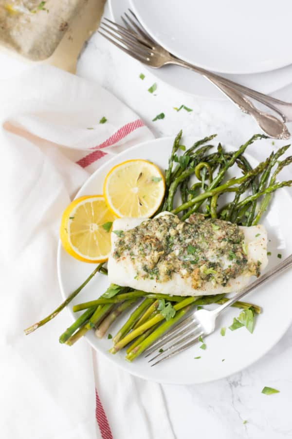 This 20 minute Herb Crusted Cod is packed full of bright lemony flavor.