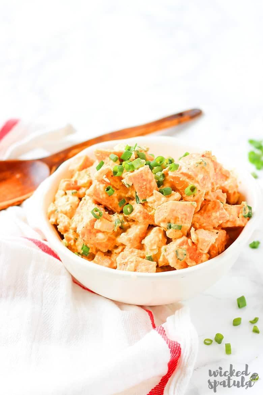 Simple paleo sweet potato salad