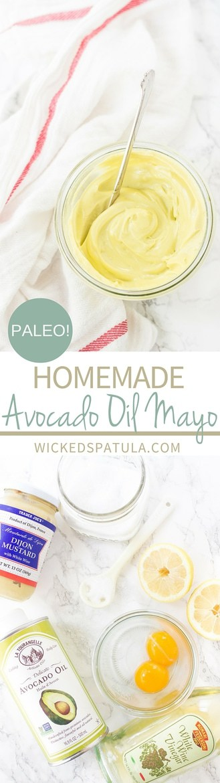 Homemade THICK Avocado Oil Mayonnaise