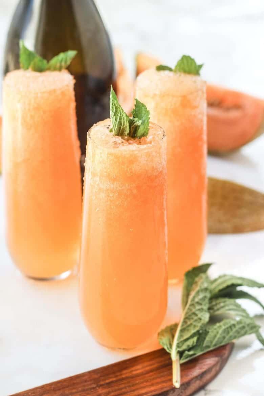 Cantaloupe Bellinis