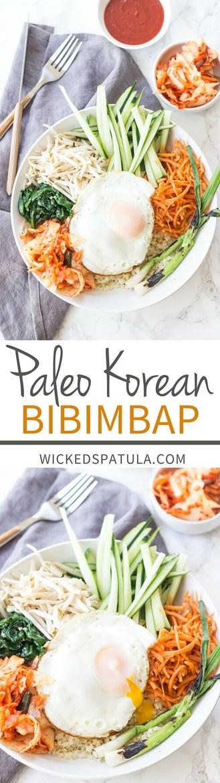 Korean Paleo Bibimbap Wicked Spatula