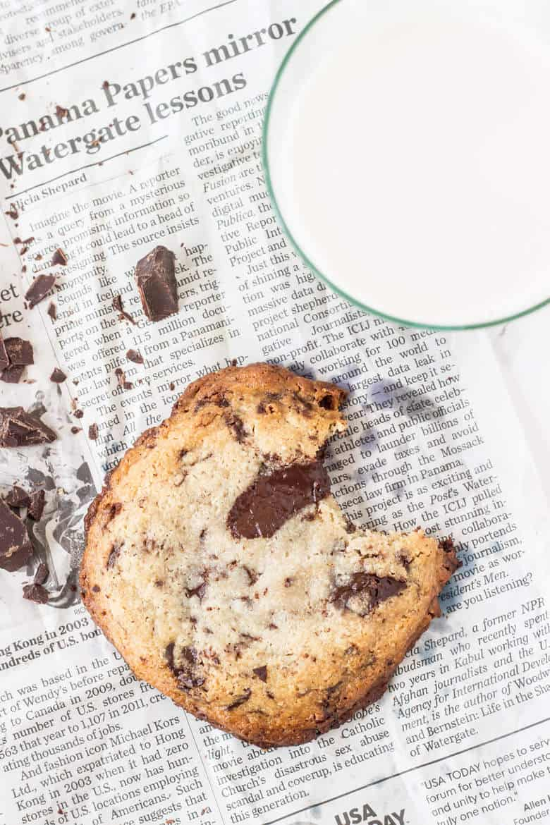 Be The Chocolate Chip - Pumpkin Chocolate Chip Cookies