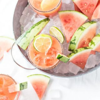 Salted Watermelon Margaritas COVER