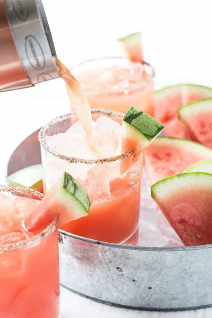 Salted Watermelon Margaritas_