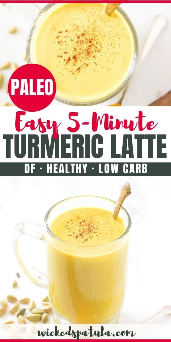 5-Minute Turmeric Latte pin image