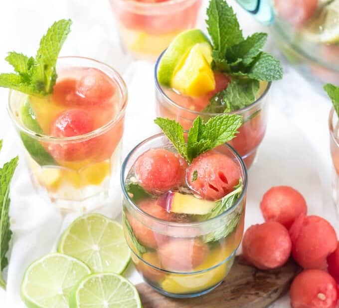 Summer Sangria {with Tequila!}