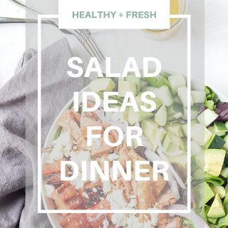 SALAD IDEAS FOR DINNER | Protein packed salads that will leave you satisfied for hours!