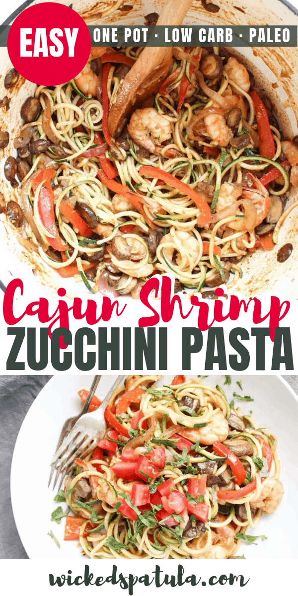 Cajun Shrimp Zucchini Pasta Recipe: Shrimp And Zucchini
