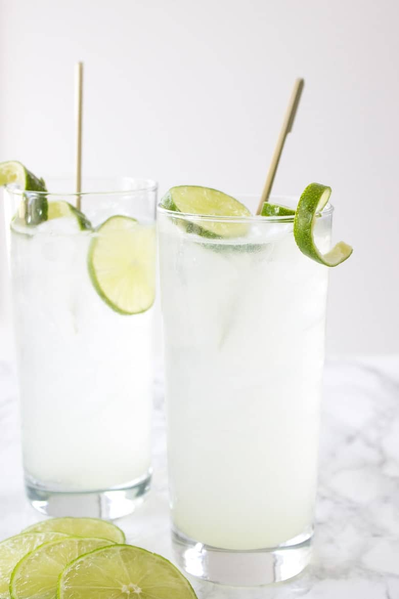 Coconut Gin and Tonic