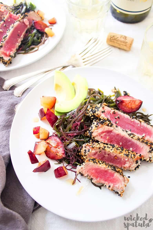 sliced ahi tuna - learn how to cook ahi tuna