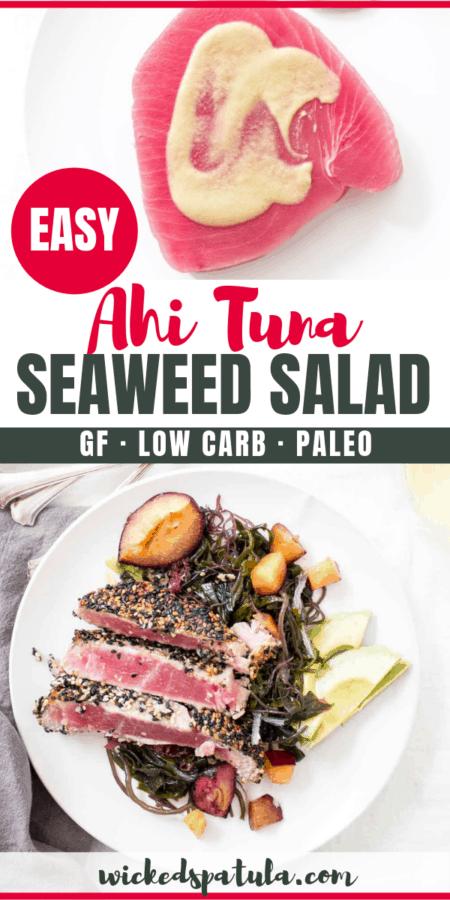 Easy Seared Ahi Tuna Salad Recipe