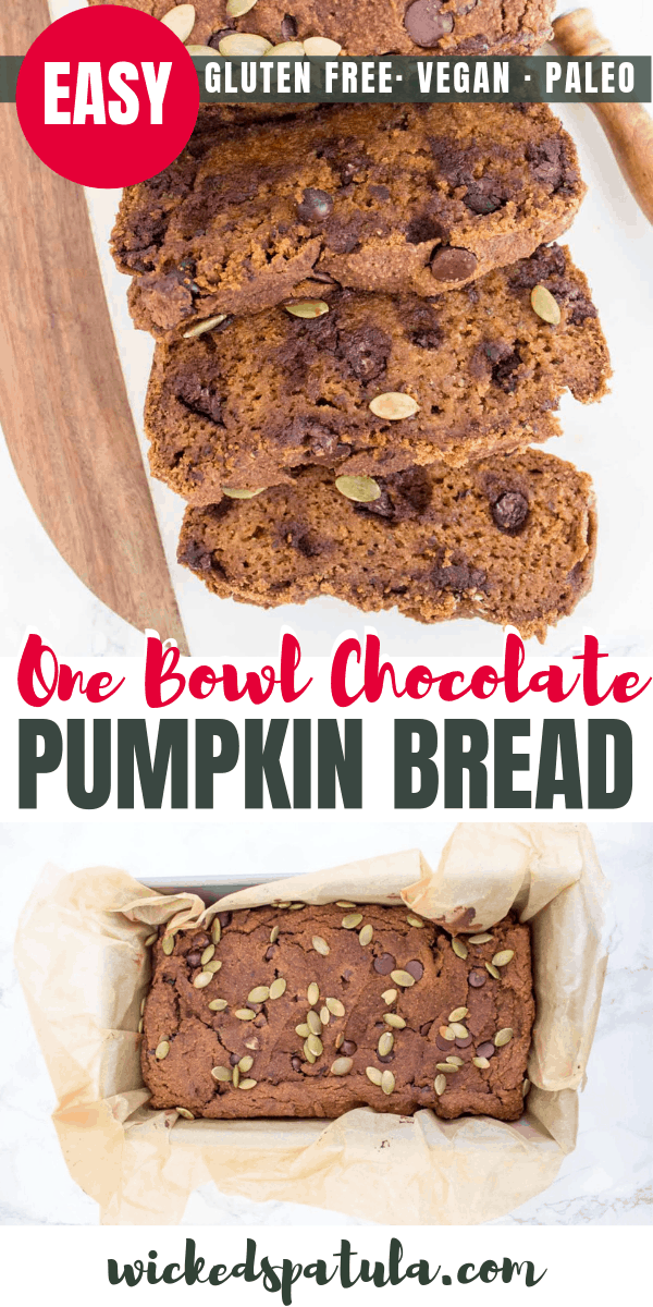 vegan pumpkin bread - pinterest