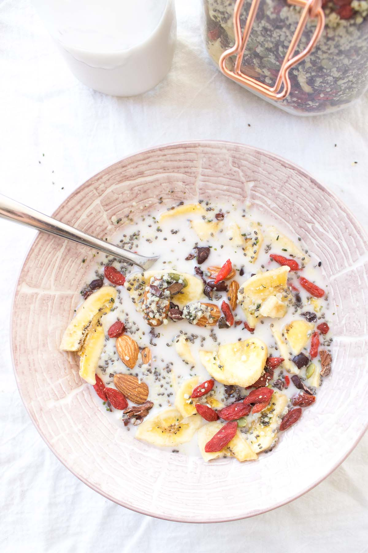 This quick paleo cereal recipe is a great option for rushed mornings!