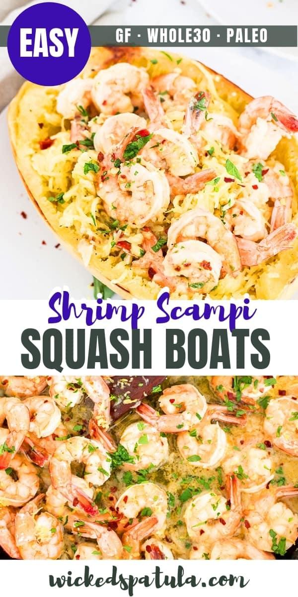 shrimp spaghetti squash - pinterest