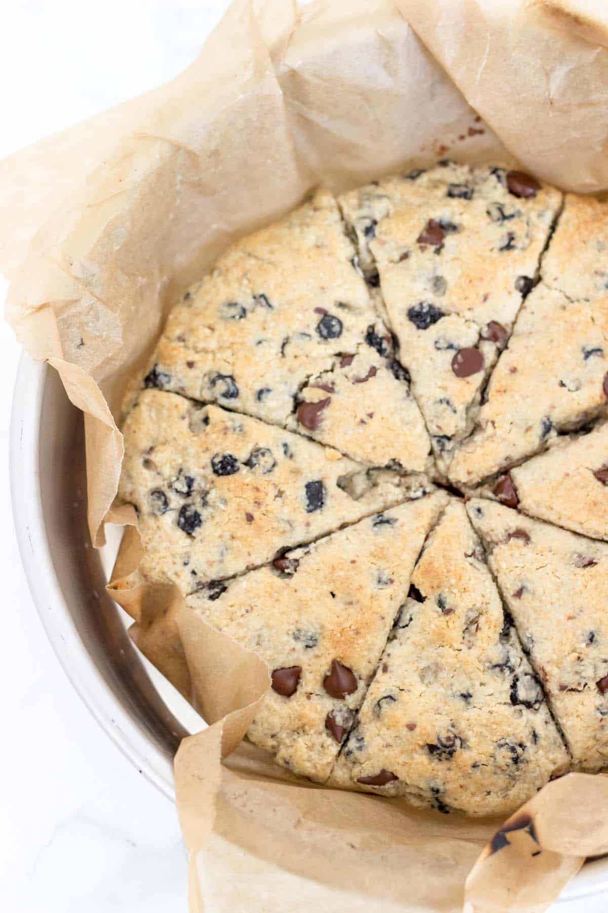 Paleo And Vegan Blueberry Chocolate Scones Easy Delicious And The Perfect Make Ahead