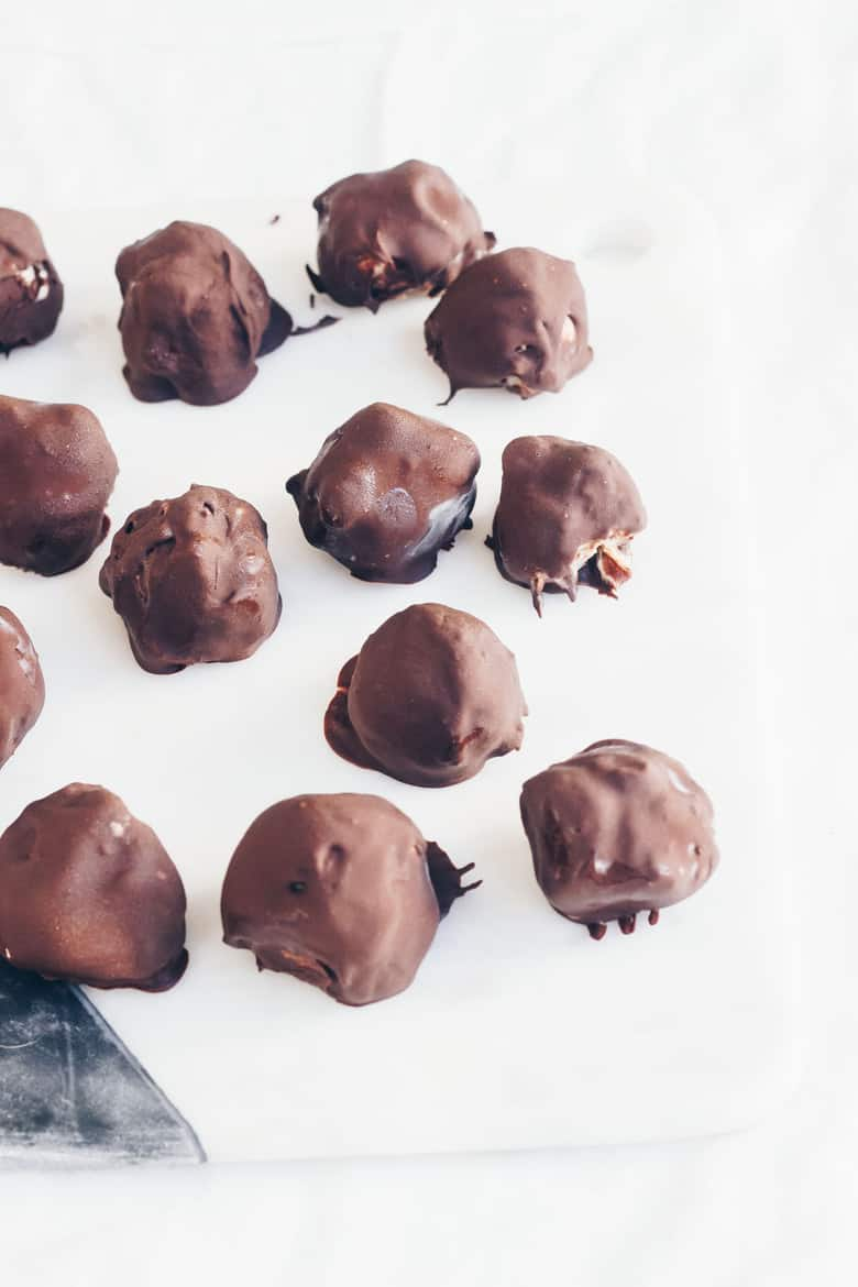 Cookie Dough Truffles finished