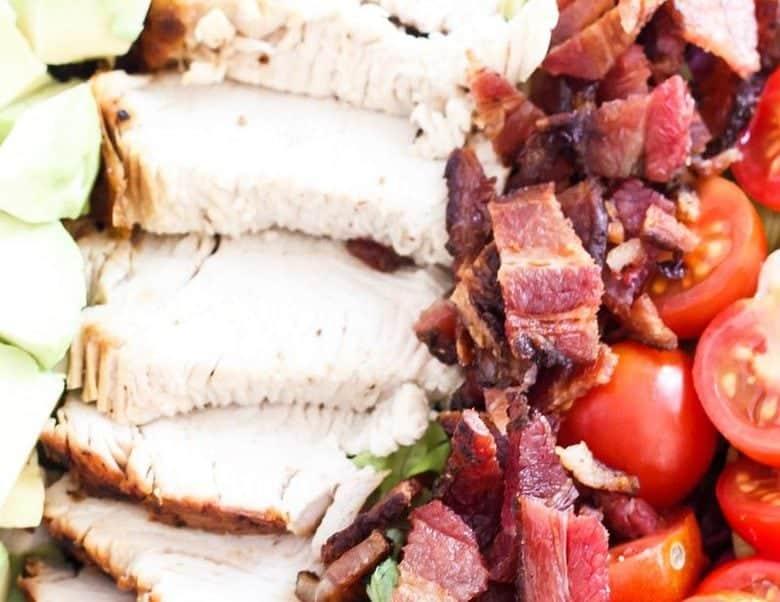 Chopped Turkey BLT Salad