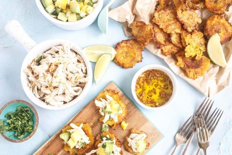 Mojo Chicken Tostones small image