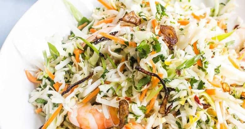 Vietnamese Shrimp Salad  {Goi Tom}