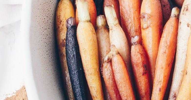 Cinnamon Glazed Carrots