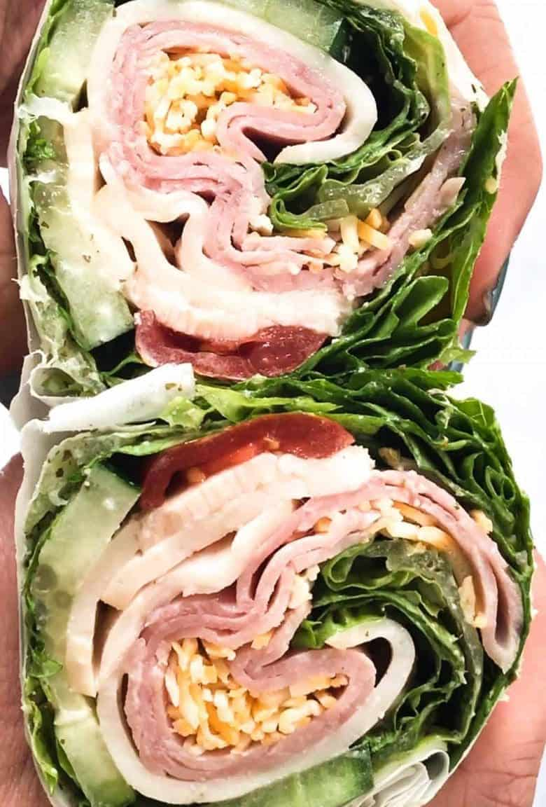 With this quick tutorial you'll see how to wrap the lettuce using parchment paper to create a tightly bound wrap. You can use whatever fillings you like and if you're using a bunch of fillings just be sure to use a few extra lettuce leaves for coverage!