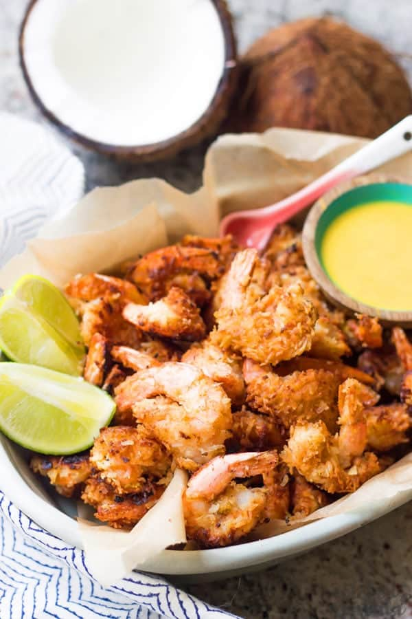 fried coconut shrimp recipe with dipping sauce