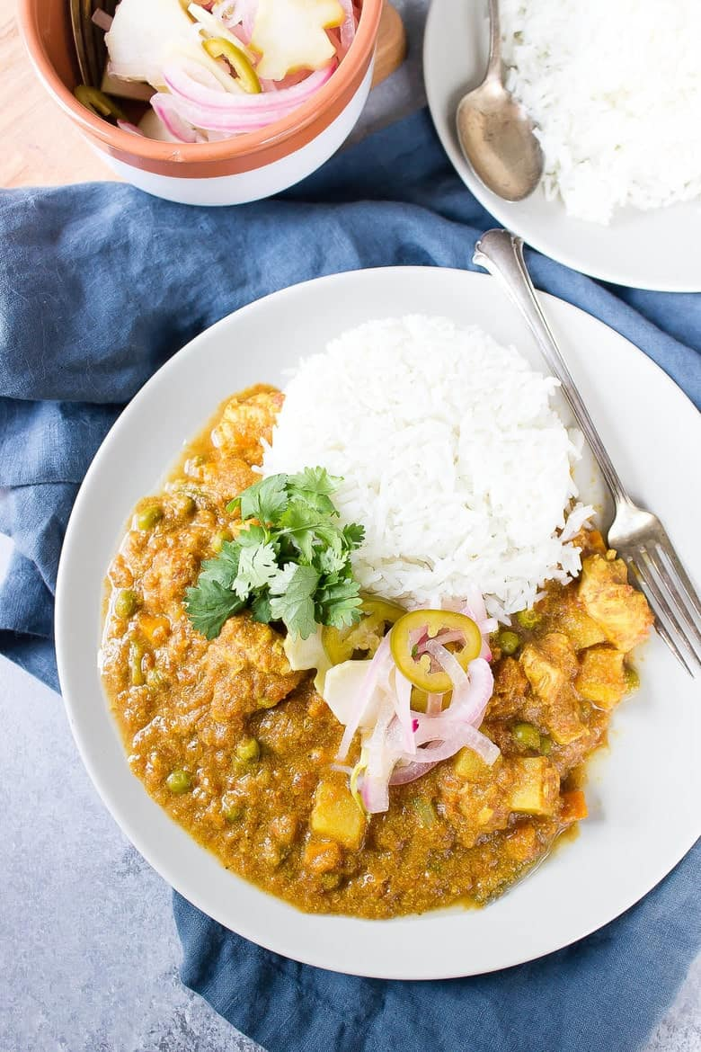 Slow cooker chicken korma wicked spatula slow cooker chicken korma forumfinder Choice Image