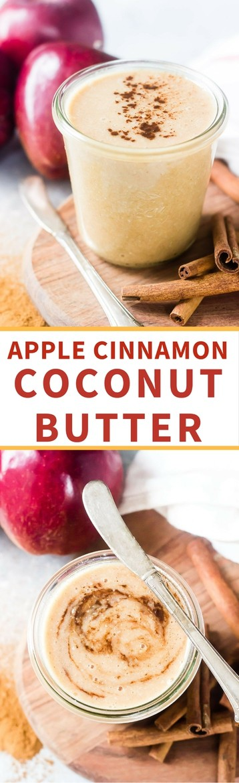 Apple Cinnamon Coconut Butter | A great fall paleo recipe!