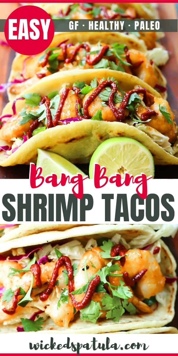 bang bang shrimp tacos recipe - pinterest