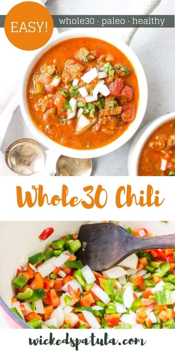 Easy Whole30 Chili Recipe Wicked Spatula