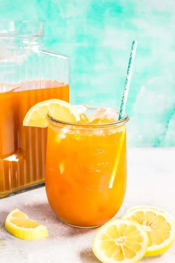 Cinnamon Turmeric Iced Tea