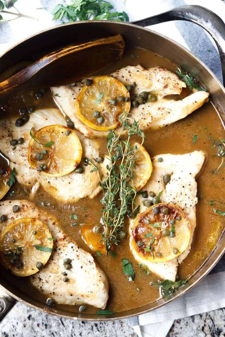 The best chicken piccata ever