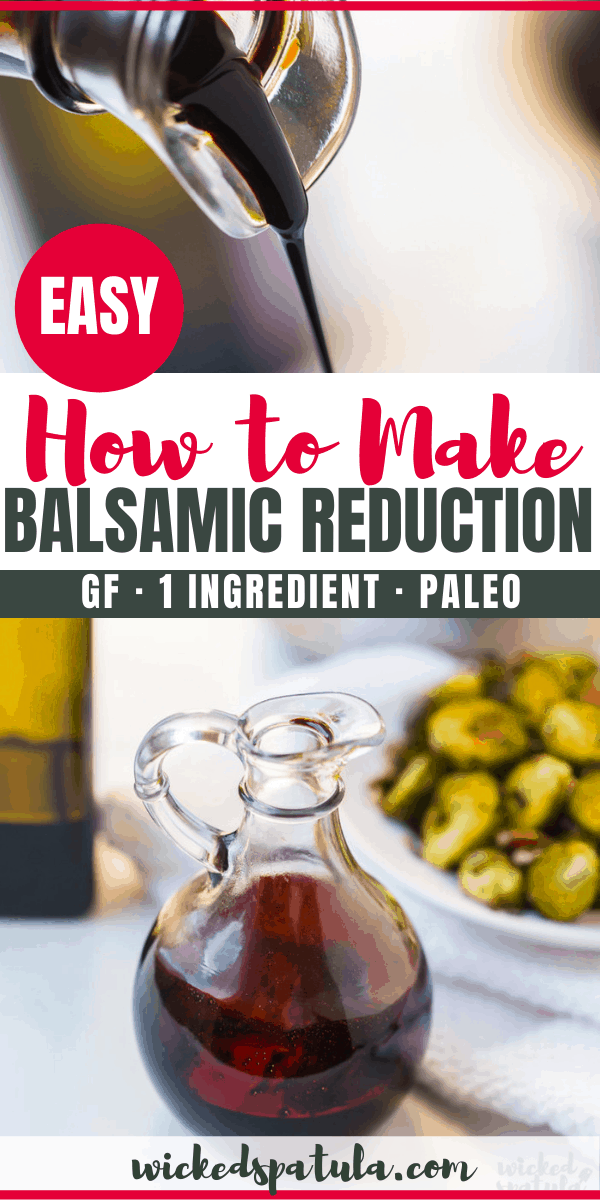 balsamic reduction recipe - pinterest