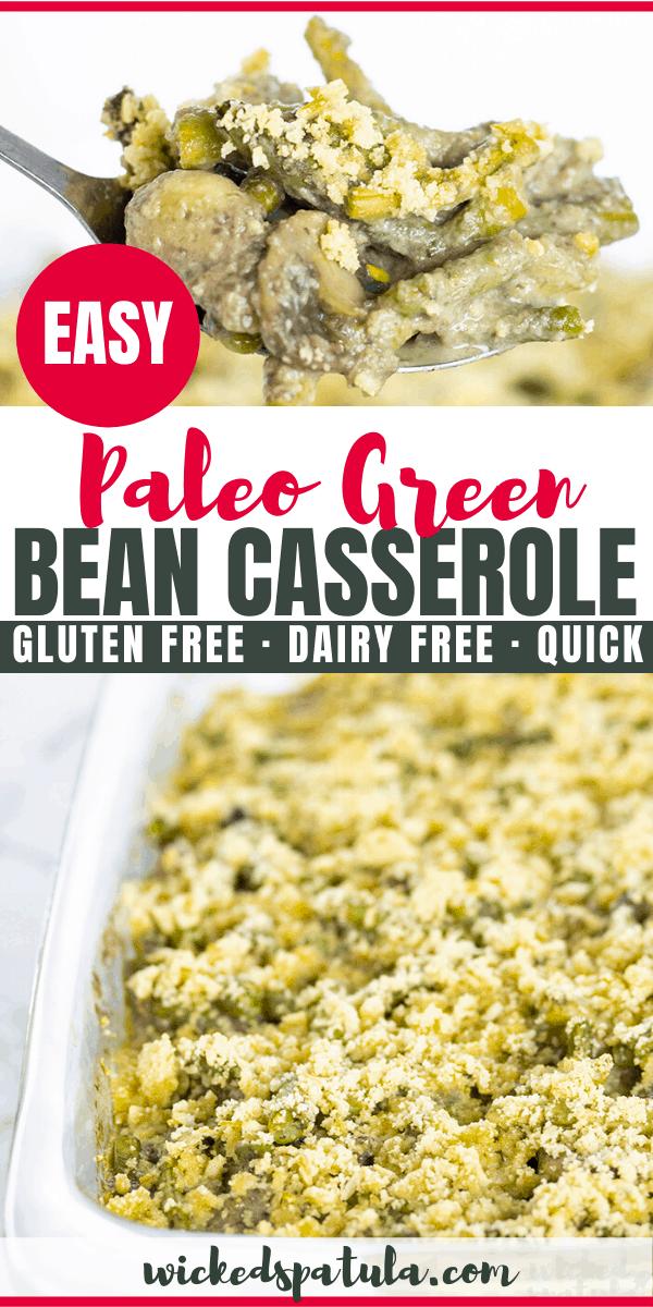 paleo green bean casserole - pinterest