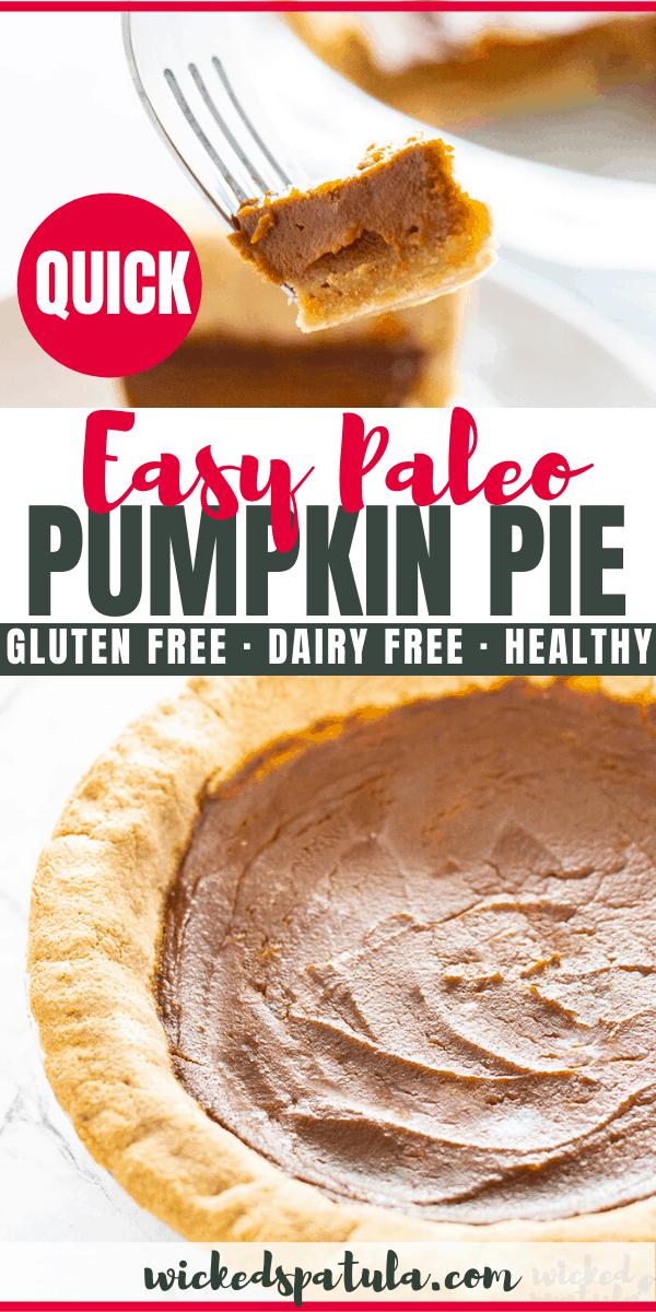 gluten-free dairy-free pumpkin pie - pinterest