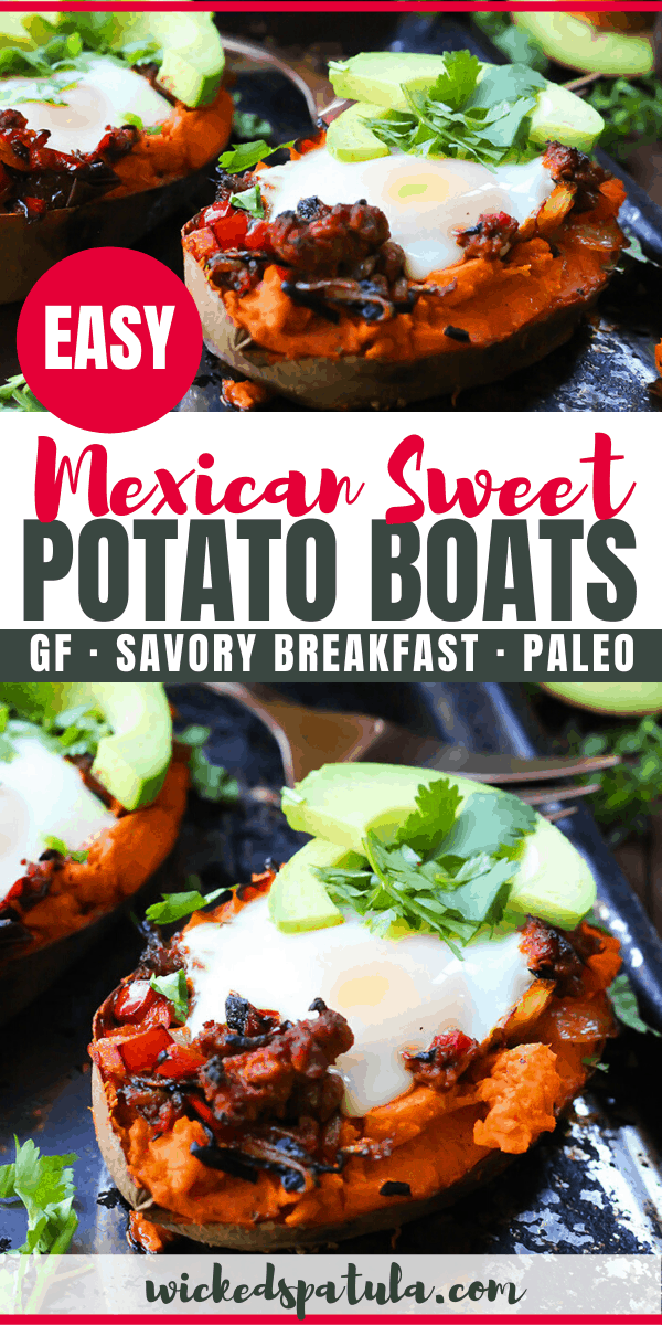 Mexican sweet potato recipe