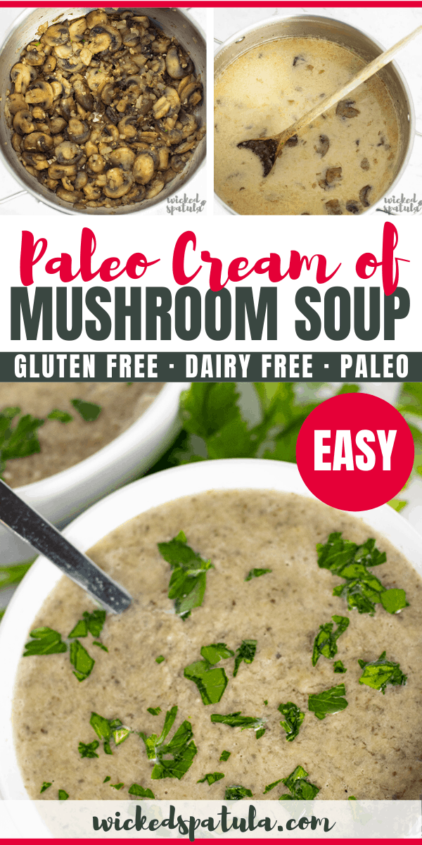 paleo cream of mushroom soup - pinterest